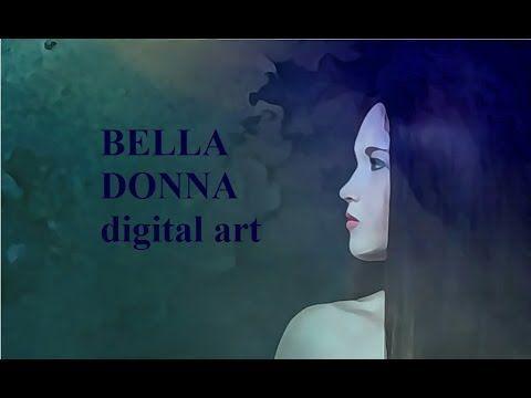 BELLA DONNA digital art - Zeit zum Träumen