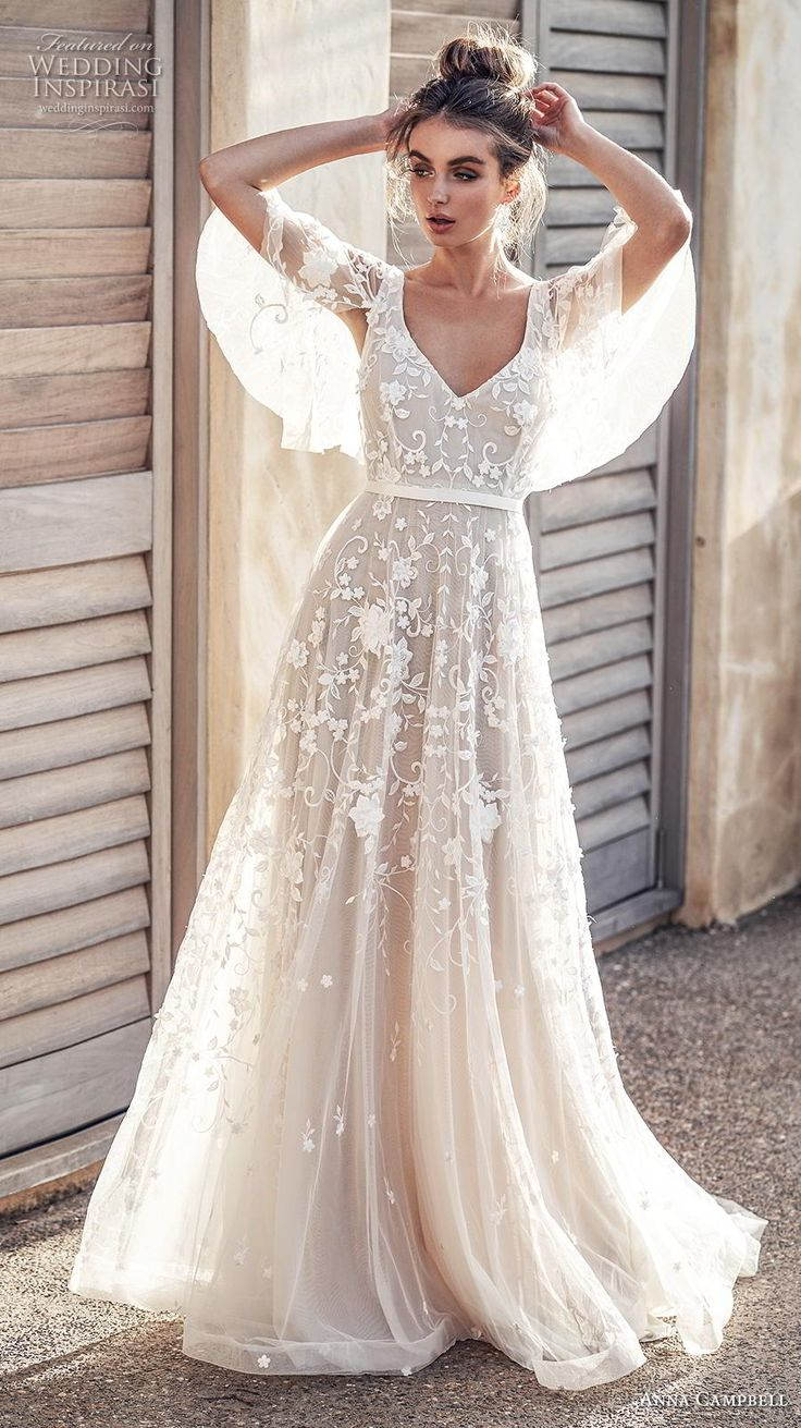 "Anna Campbell 2019 Wedding Dresses — ""Wanderlust"" Bridal Collection"