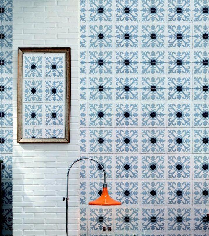 Can I Wallpaper Over Ceramic Tiles