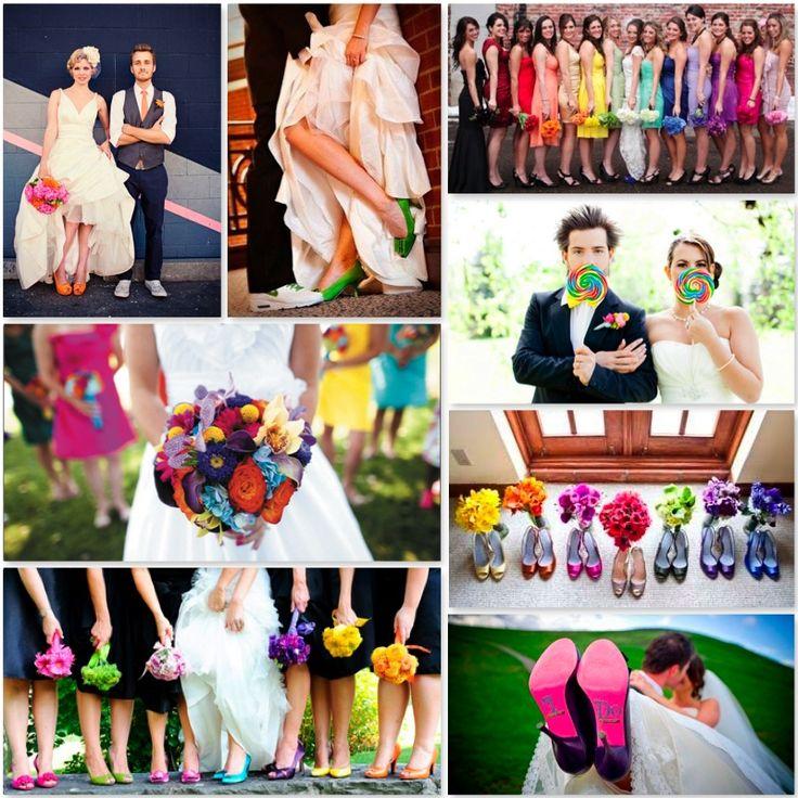 mariage en couleurs