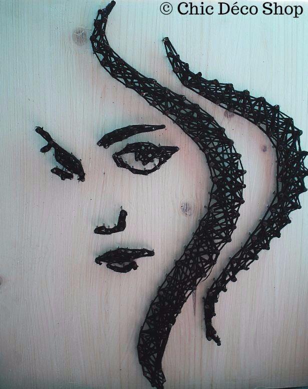 String art by Chic Deco Shop #stringart