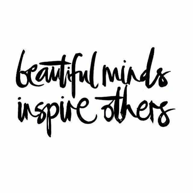 beautiful minds inspire