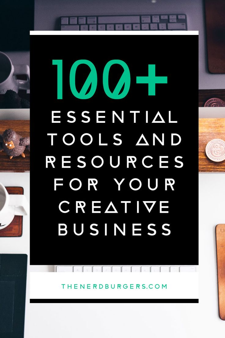 100+ Essential tools and resources for your creative business