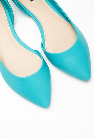 Pointed Cutout-Side Flats | FOREVER21 - 2000096839