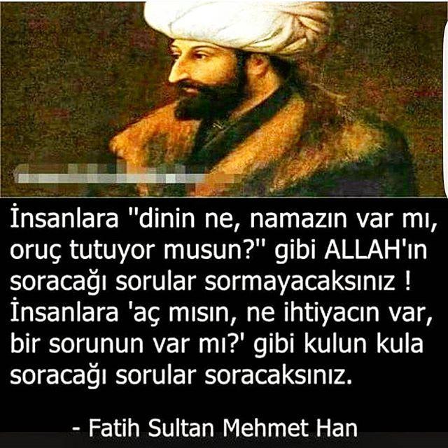 Cennet Mekân Fatih Sultan Mehmet Han Hz..