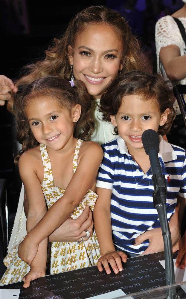 Jennifer Lopez & her babies