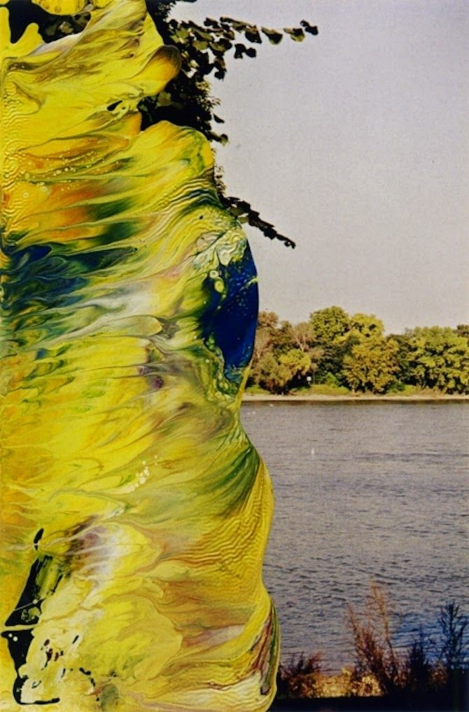 Overpainted Photographs by Gerhard Richter #art #photography