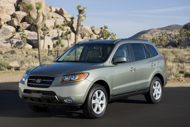 RECALL ALERT: 2007-2009 Hyundai Santa Fe: Recall Alert.  Hyundai is recalling certain 2007 through 2009 model year Santa Fe SUVs to ensure that airbags will deploy in a crash when a small stature person is seated in the passenger seat.    Read More Here: http://www.thecarconnection.com/news/1078090_2007-2009-hyundai-santa-fe-recall-alert