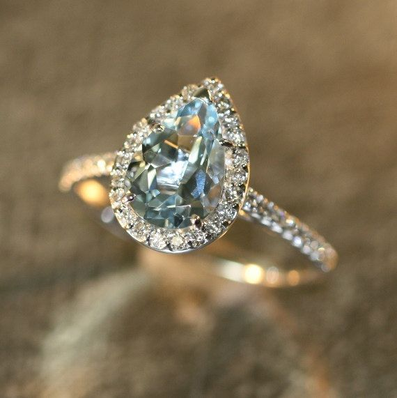 best 25 aquamarine engagement rings ideas on pinterest. Black Bedroom Furniture Sets. Home Design Ideas