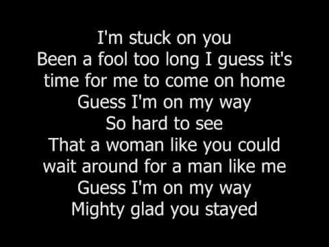 "Lionel Richie's 1984 hit ""Stuck On You"" with lyrics. Enjoy, and please comment/rate. I do not own any of this. For entertainment purposes only!"