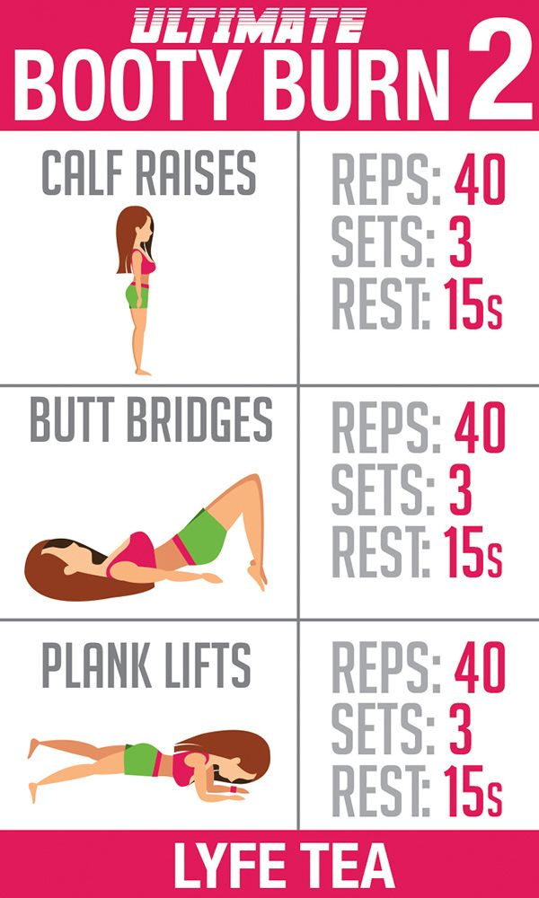 Ultimate Booty Burn Workout...? Um... yes please! Thanks #LyfeTea