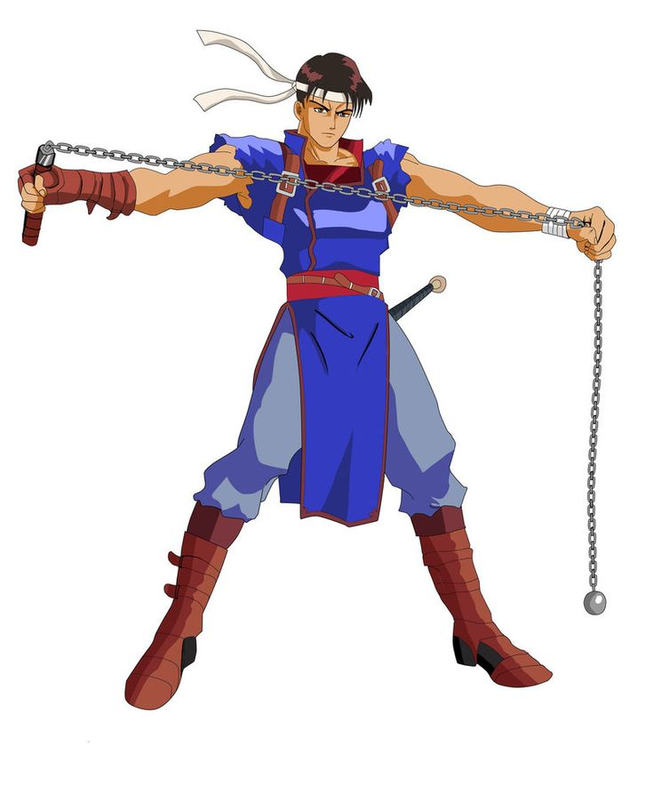 Richter Belmont - Castlevania - Rondo of Blood Minecraft Skin