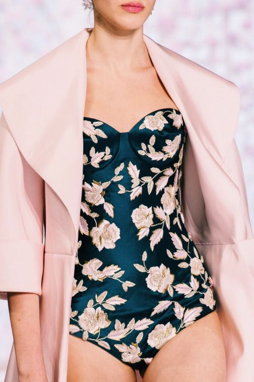 Detail at Ralph Russo Couture Spring Summer 2016 | PFW