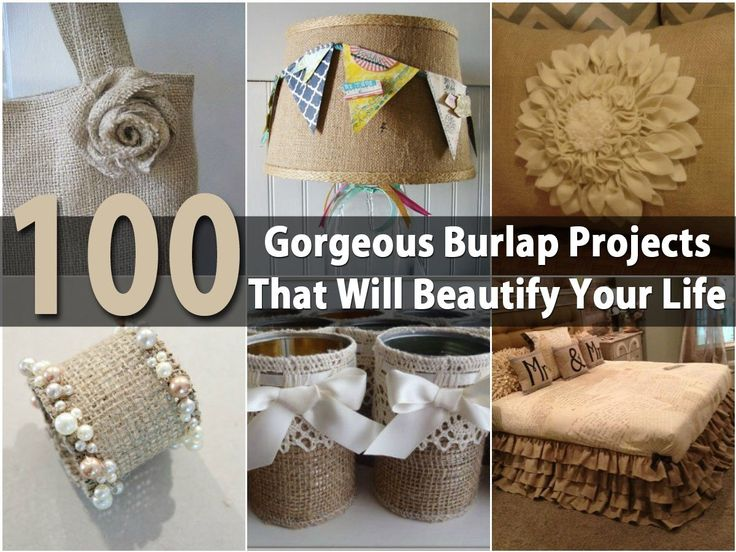 59 Incredibly Simple Rustic Décor Ideas That Can Make Your: 148 Best Images About Burlap Ideas On Pinterest