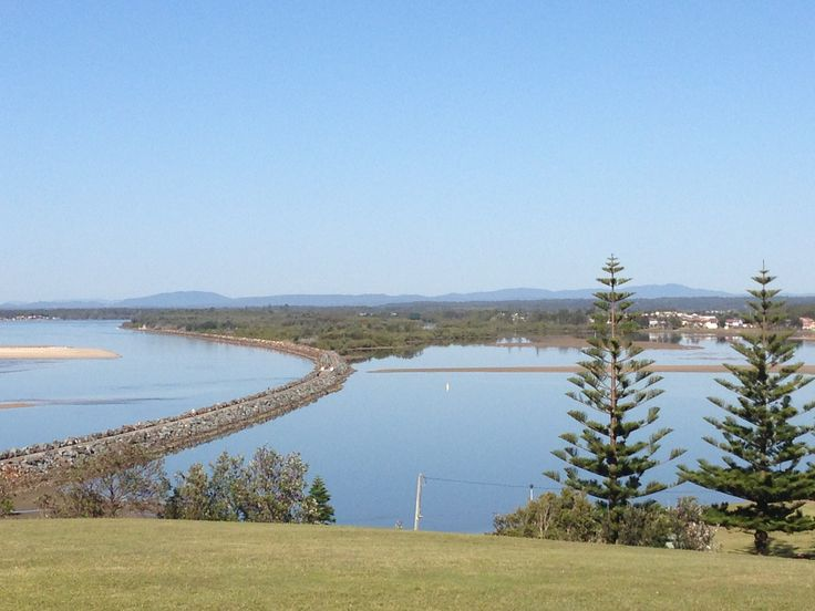 Manning River and #Harrington lagoon from Pilot Hill