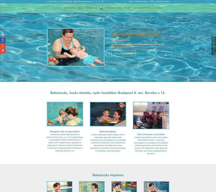 borsikababauszi.hu weboldal - Bitmami - weboldal készítés