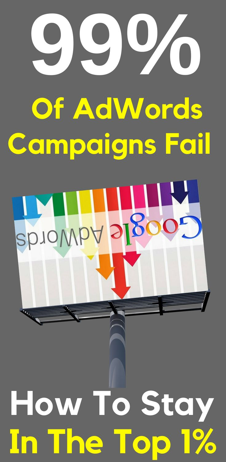 "Why 99% Of AdWords Campaigns Fail - How To Stay In The Top 1% Welcome to Google #AdWords Tips and Tricks. I'm super excited to share these #training #tips with you. I absolutely promise that if you apply the principles that I've put together in this #video #series, you will ""move the needle"" and see results. Learn more here…"