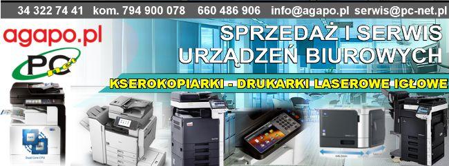 Sprzedaż kserokopiarek, drukarek, urządzeń wielofunkcyjnych, ploterów. Brother, Canon, Ricoh, Develop, Olivetti, Sharp. Epson, HP, Kyocera, Lexmark, Minolta, OKI, Page, Panasonic, Samsung, Xerox, Toshiba.