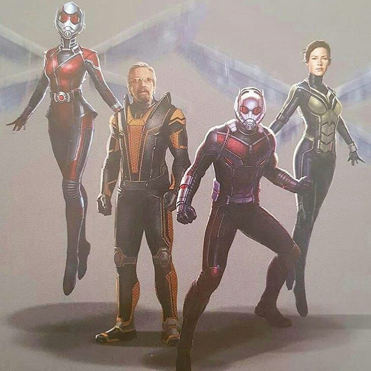 New Concept Art Of Ant Man And The Wasp Antmanandthewasp