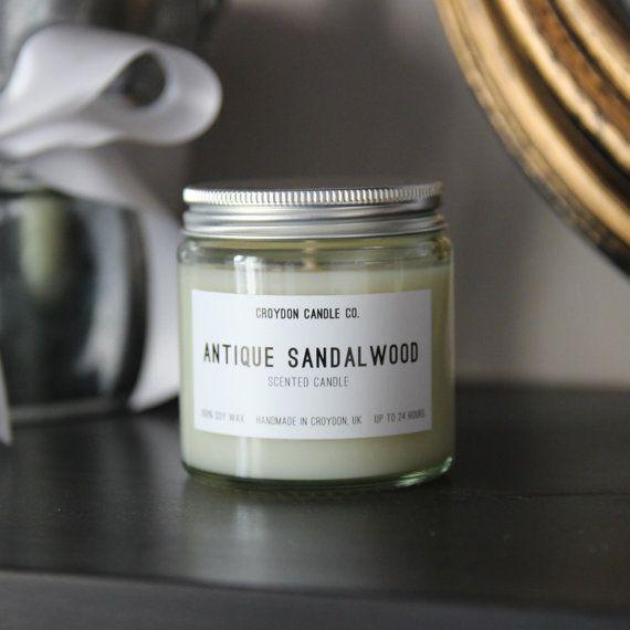 Soy Sandalwood candle