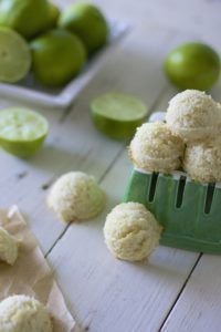 Tart and refreshing coconut and lime macaroons for a bite sized taste of the tropics. A grain free, gluten free, refined sugar free & paleo macaroon cookie perfect for a warm summer day!