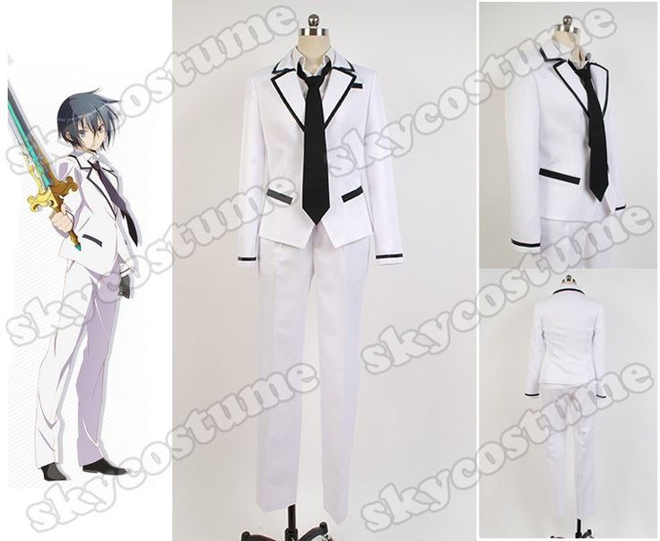 Bladedance of Elementalers Kamito Kazehaya Uniform Cosplay Costume from Bladedance of Elementaler