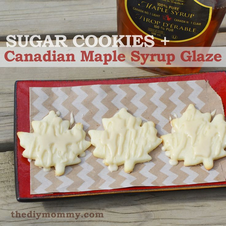 Bake Sugar Cookies with Maple Sugar Glaze (A Canada Day Recipe)