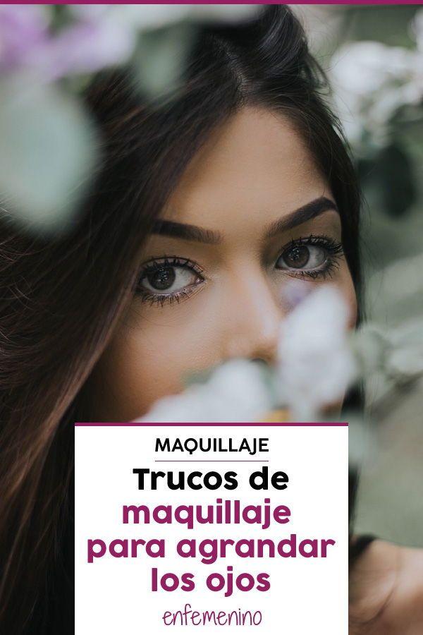 00e01803c2 Con estos trucos de #maquillaje conseguirás que tus #ojos parezcan mucho  más grandes. ¡Apunta!