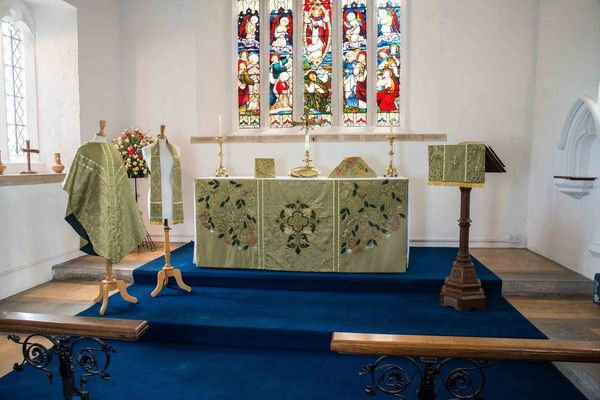 Green Vestments – The Bluebird Embroidery Company
