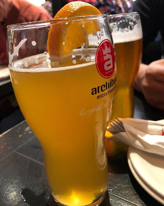 Last Leg Supper At Montreal Airport Craft Beer Soothes Travel