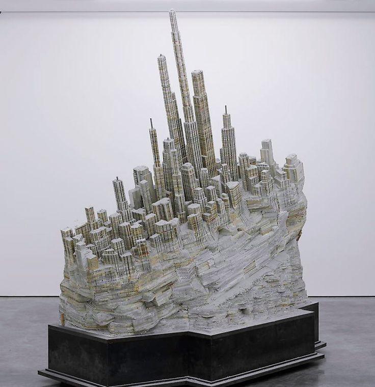 Book Sculpture, Art, Paper Art