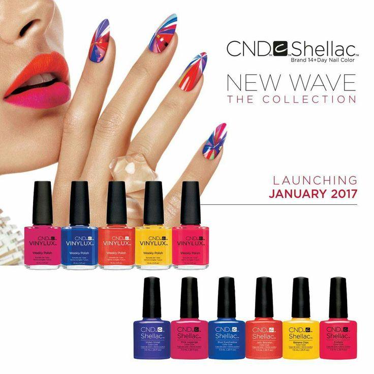 New CND colours due Jan 2017