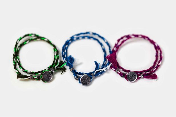 Stussy and Jam Home Made Bracelet