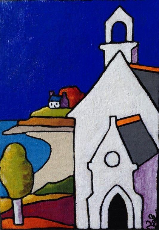 Fabinonzoli chapelle notre dame du verger cancale for Style de peinture