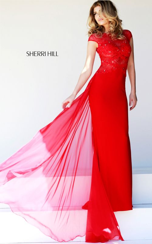 Best 65 Sherri Hill Long Prom Dresses images on Pinterest | Vestidos ...