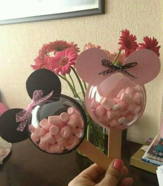 Ideas para recuerdos minnie mouse