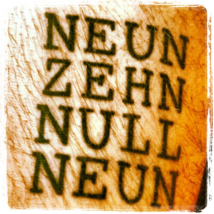 Liebe geht unter die Haut. In diesem Fall in Form von Tinte. #Tattoo #BVB #Borussia #Dortmund #1909