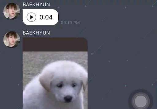 Video 200811 Baekhyun Lysn App Bubble Chat