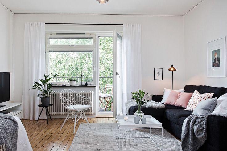 Scandinavian living room.