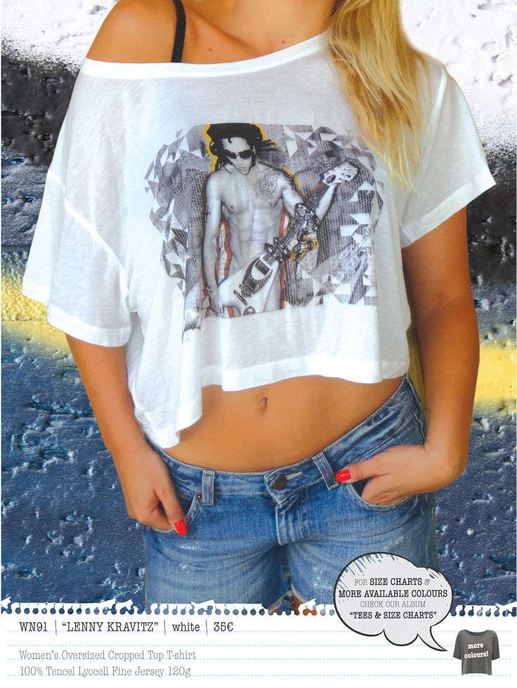 LENNY KRAVITZ Women's t-shirt
