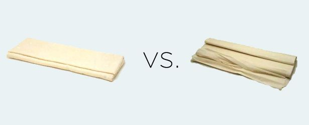 What's the difference: Puff Pastry vs. Phyllo Dough