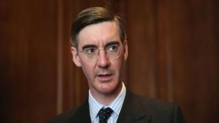 Jacob Rees-Mogg says Treasury 'fiddling figures' on Brexit