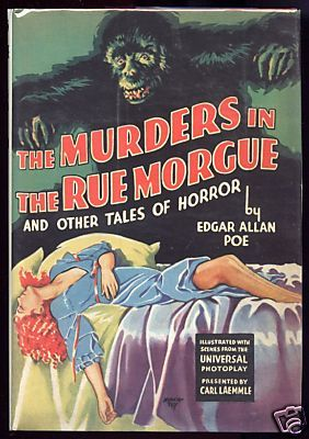 """""""The Murders in the Rue Morgue"""" - A mad scientist (Bela Lugosi) seeks to mingle human blood with that of an ape, and resorts to kidnapping women for his experiments."""