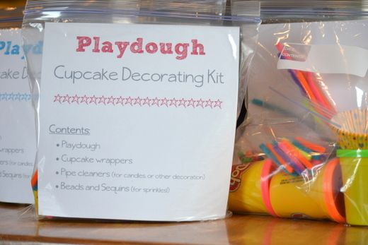 Making this happen soon!!!  So fun!!  Make a play dough cupcake kit for kids in the hospital.