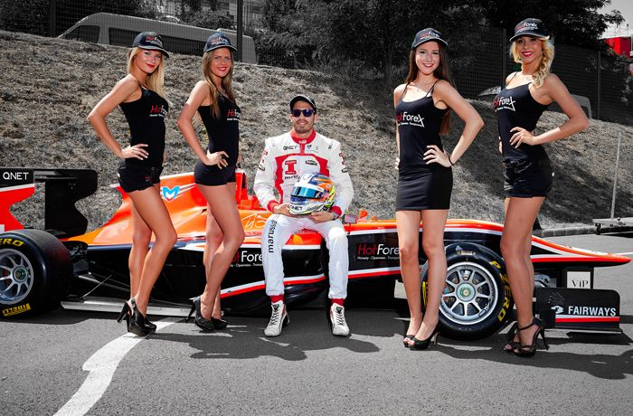 HotForex is proud to announce it's Official Partnership with race car driver Tio Ellinas, currently driving for the Marussia Manor Team for the remainder of the 2013 season. #forex #trading #GP3 #Marussia  #HotForex #sponsor #Formula #TioEllinas