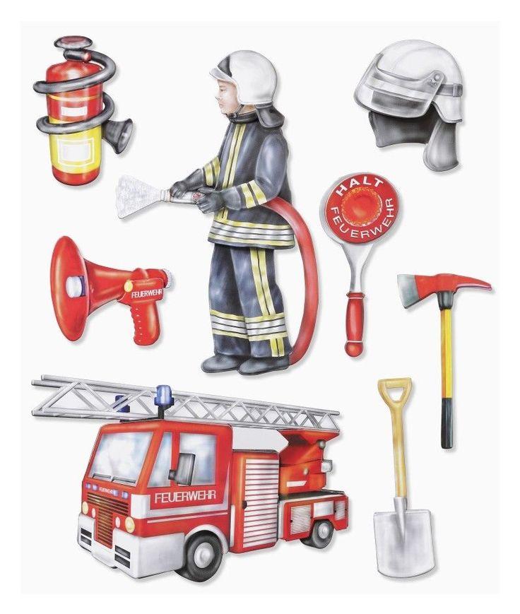 О профессии пожарный картинки для детей