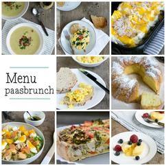 Paasbrunch menu | via brendakookt