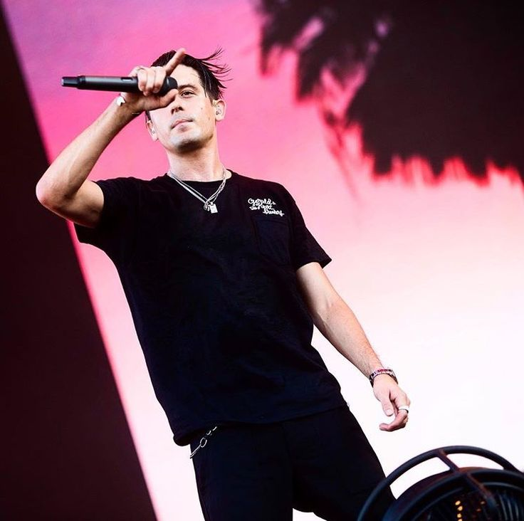 G Eazy on world tour on his Instagram