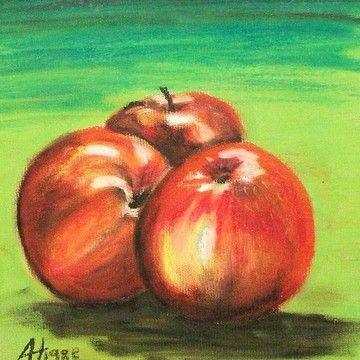 ALAN HOGAN - Art Catalog - Finland Alan Hogan is a visual artist born in Ireland and now based in Finland. Click on an apple to see more of his art at Pixels.com! #pixels #apple #art #painters #euroart #europeanart  #alanhogan #hoganart #fineartamerica #konst #kunst #peintre #pintura #artiste