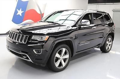 2014 Jeep Grand Cherokee Overland Sport Utility 4-Door 2014 JEEP GRAND CHEROKEE OVERLAND 4X4 PANO ROOF NAV 37K #335701 Texas Direct